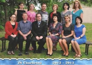 Učitelský sbor 2012/13
